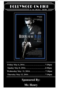 Born To Be Blue-front only