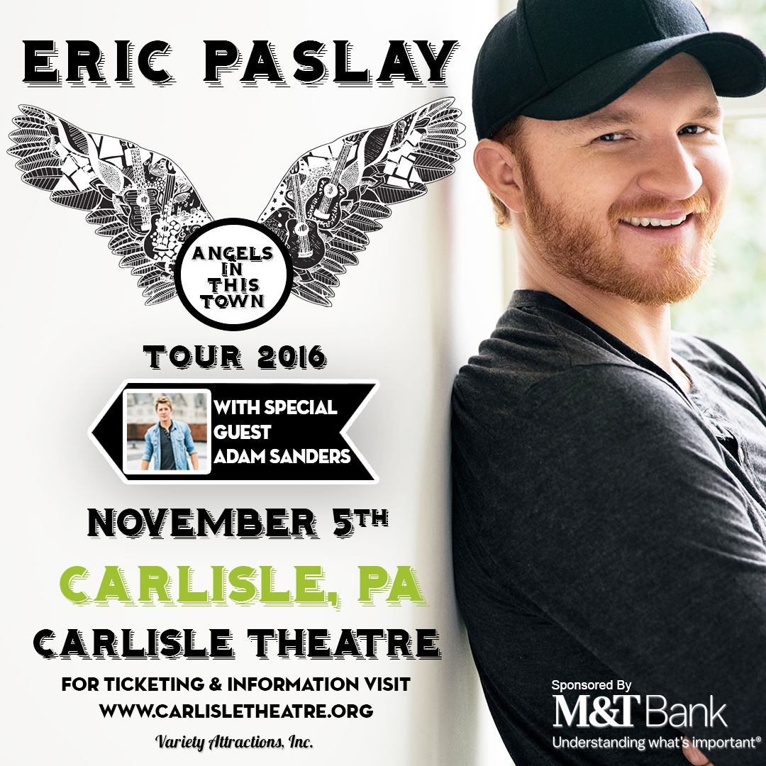 See Eric Paslay, Nov. 5