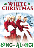 White Christmas Sing-A-Long poster