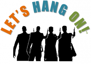 Let's Hang On logo